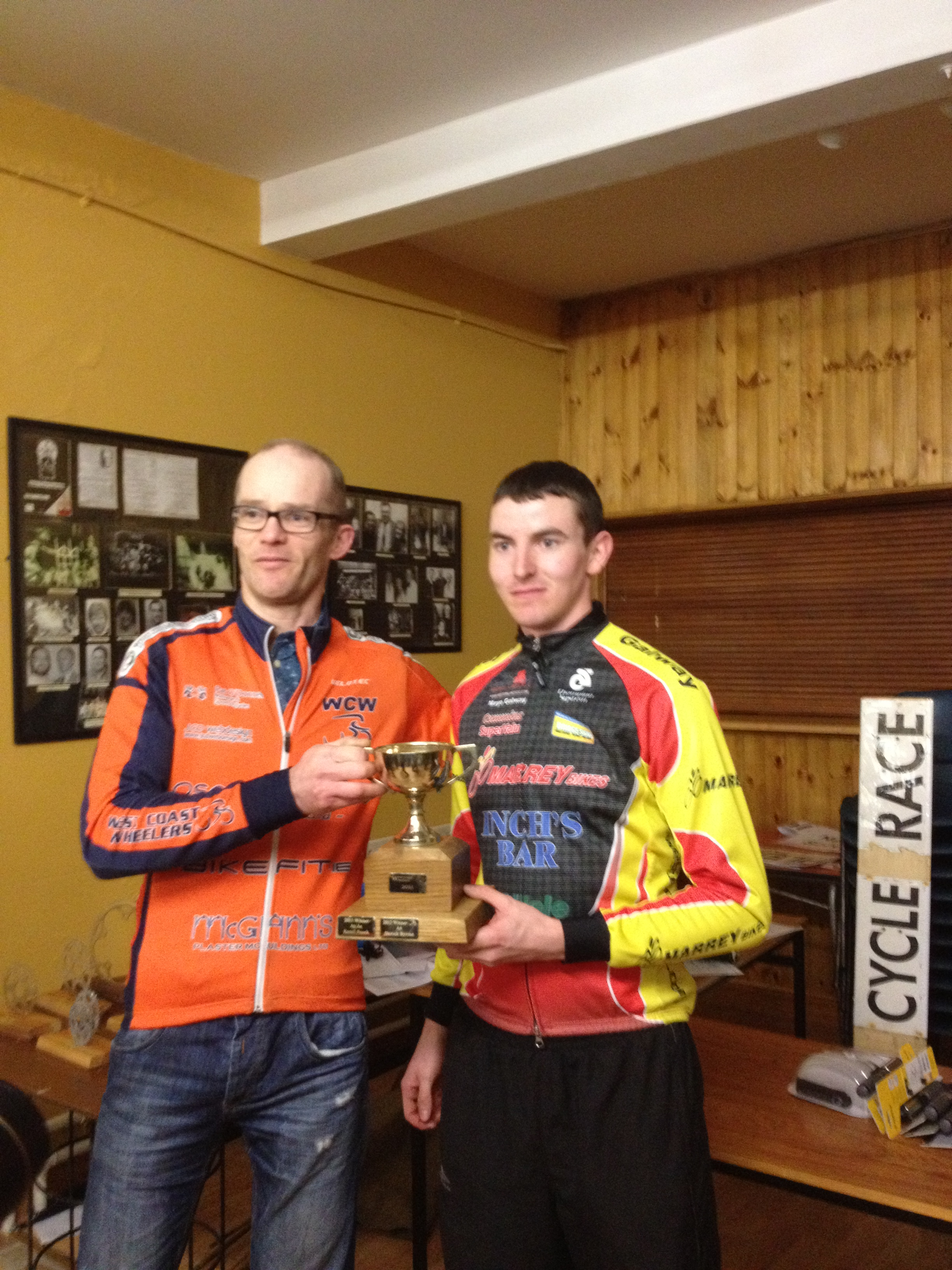 Sean O Malley winner of GP loughrea