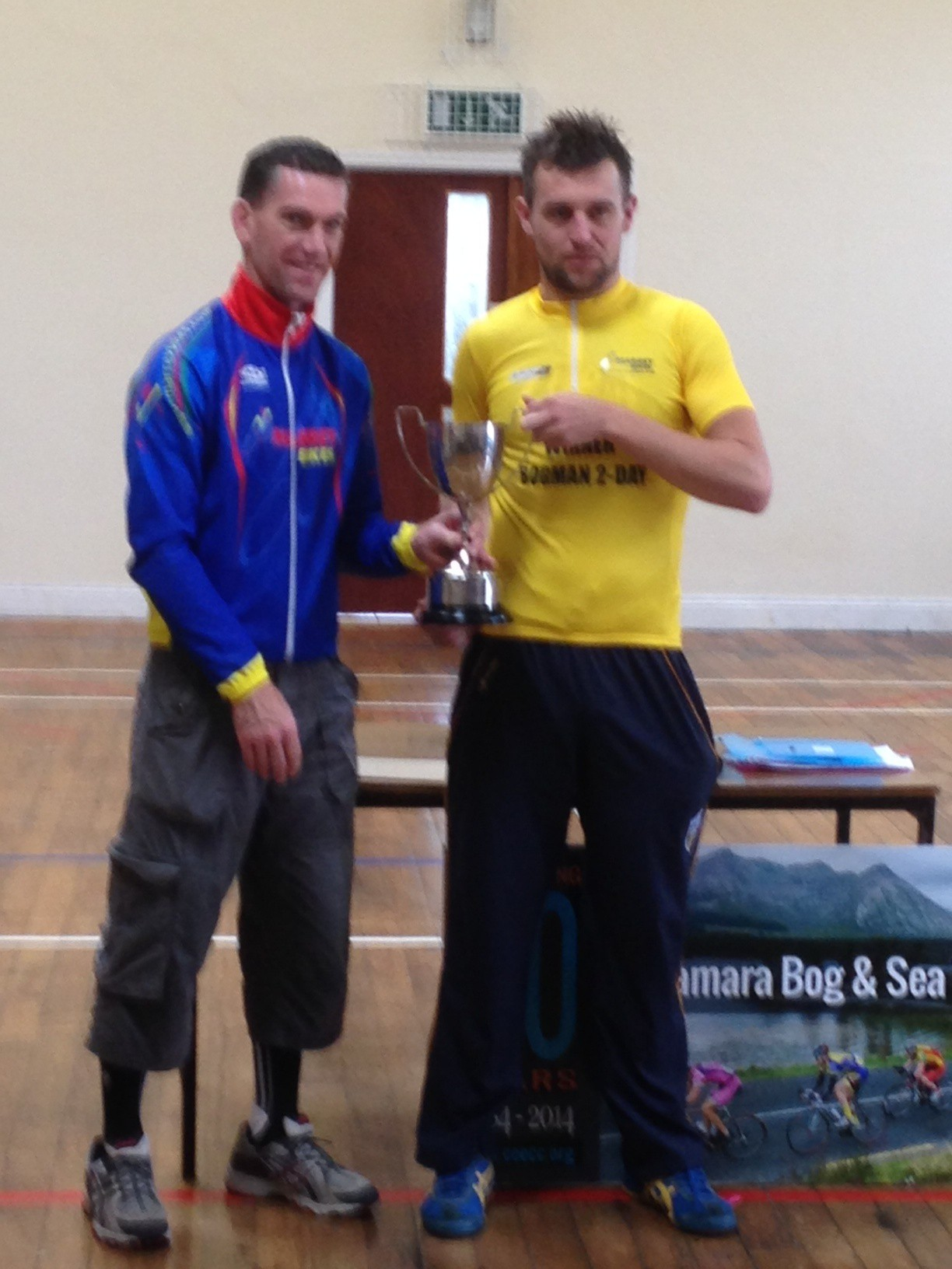 Colm Cassidy Overall winner
