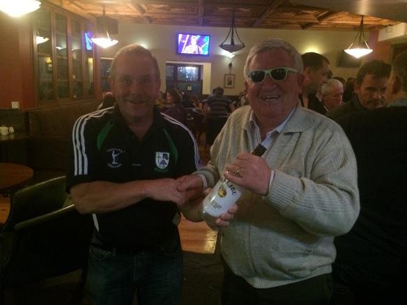 Ray Mc Hugh and Jimmy Durcan