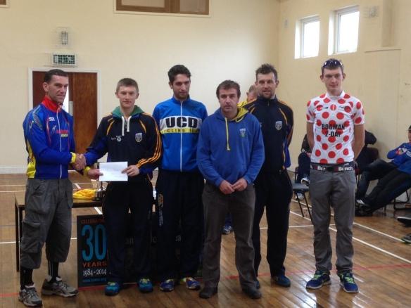 UCD team winners