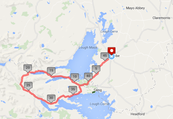 Ladies sportive 2014 route