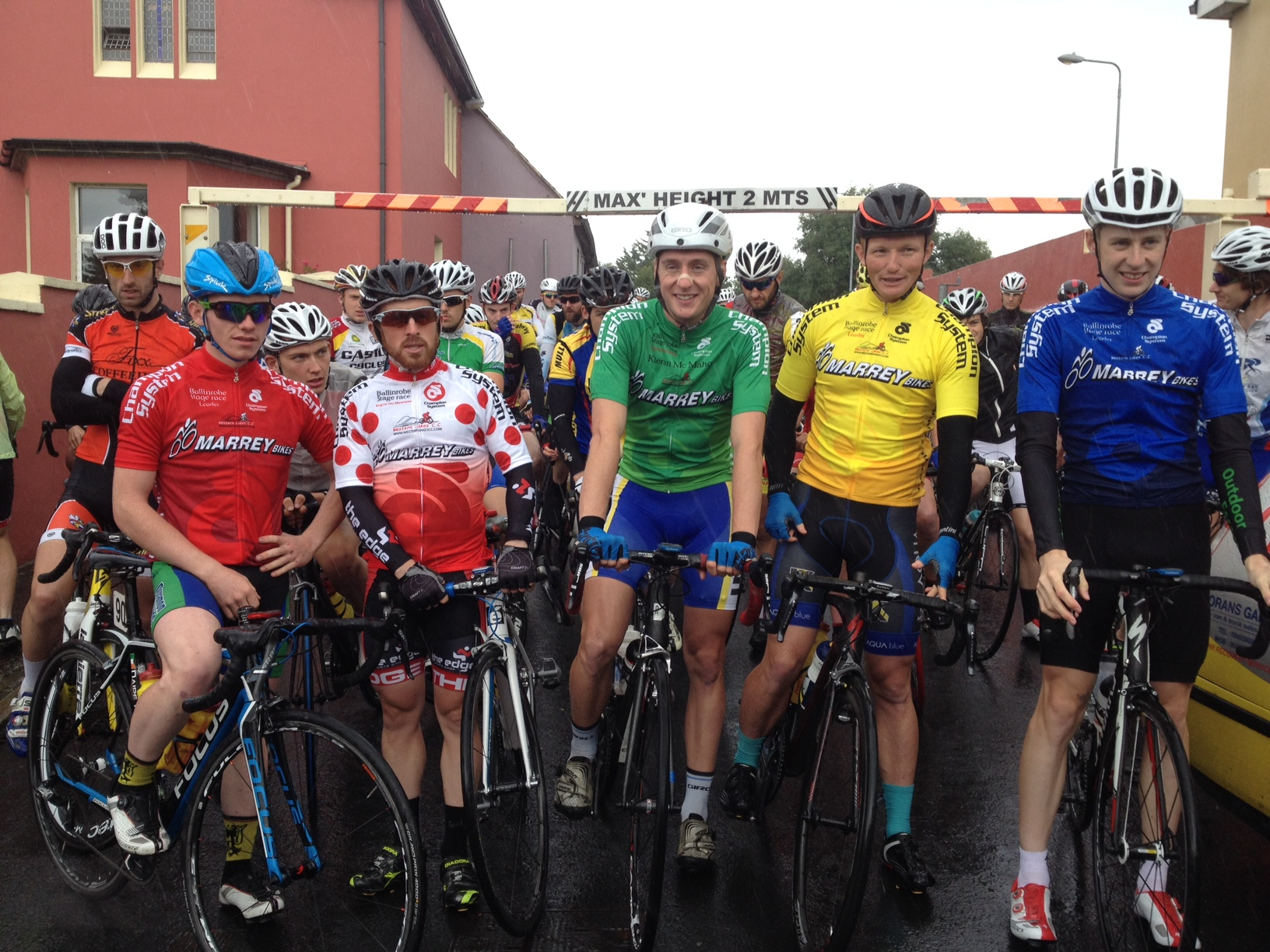 Jersey holders after 2 stages 2014